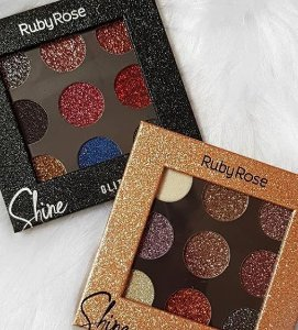 PALETA SHINE GLITER - RUBY ROSE