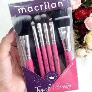KIT PINCEIS KP10-2  TRAVEL BEAUTY - MACRILAN