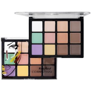 PALETA DE CORRETIVO 12 CORES  LIGHT - RUBY ROSE