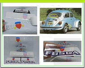 KIT ADESIVOS FUSCA 1984 - SÉRIE ESPECIAL LOVE - KIT c/3 ADESIVOS (LATERAIS E VIGIA)