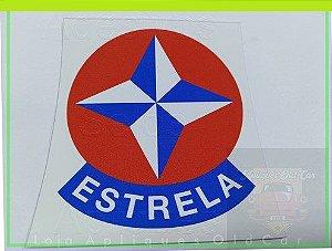 ADESIVO ESTRELA - RETRÔ - (COLAGEM EXTERNA P/ LATARIA)