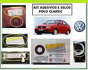KIT ADESIVOS POLO CLASSIC - (MINI-FRENTE, COFRE e PORTINHOLA TANQUE)