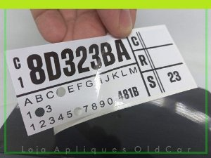ADESIVO TAMPA DE VÁLVULAS FORD GALAXY - MOTOR V8 302