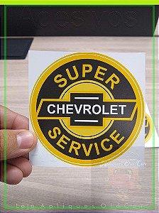 Adesivo Chevrolet - Super Service GM - OLD CHEVROLET - Adesivo Decorativo