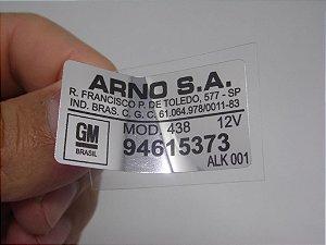 Adesivo Arno Motor Limpador de Para-Brisa - Linha GM