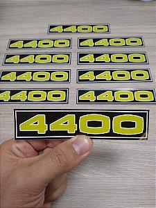 Adesivo 4400 Tampa de Válvulas - Motor 6cil - Preparação 4400
