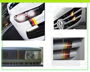 Adesivo Faixa Decorativa Cores - Alemanha - Faixa 30cm_x_5cm