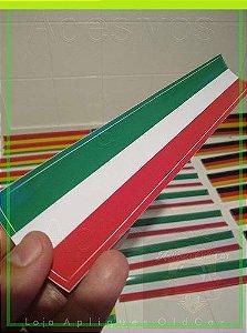 Adesivo Faixa Decorativa Cores - Itália - Faixa 30cm_x_5cm