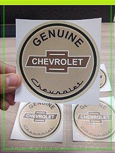 Adesivo Genuine Chevrolet - OLD CHEVROLET - Adesivo Decorativo