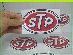 Adesivo STP - Tamanho Médio (13cm_x_8cm) - Adesivo Decoração Old, Vintage, Retrô, Hot
