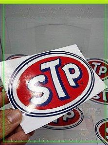Adesivo STP - Tamanho Grande (16cm_x_10cm - Adesivo Decoração Old, Vintage, Retrô, Hot