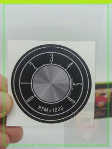 Aplique Conta-Giros 6000RPm -  Maverick 8Cil.