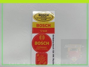 KIT ADESIVOS E SELOS BOSCH - BOBINA 12VOLTS - GERMANY - LINHA VW e PORSCHE