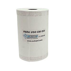Bobina Térmica 80x30 Branca - Caixa com 30 Unidades