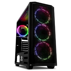 Gabinete Gamer Redragon Ramhorn, S/Fan, Preto - GC-908