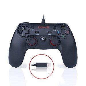 Controle Redragon Saturn para PC e PS3 - G807