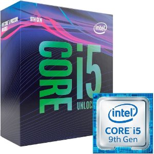 Processador Intel Core i5-9600K Coffee Lake, 3.7GHz (4.6GHz Max Turbo), LGA 1151- BX80684I59600K