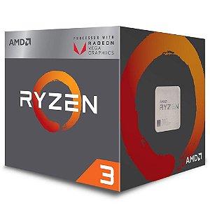 Processador AMD Ryzen 3 2200G, Cooler Wraith Stealth, 3.5GHz (3.7GHz Max Turbo) - YD2200C5FBBOX