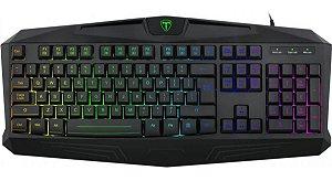 Teclado Gamer T-Dagger Tanker, RGB - T-TGK202