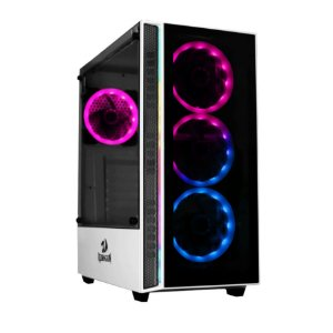Gabinete Gamer Redragon Grapple, S/Fan, Branco - GC-607-WH