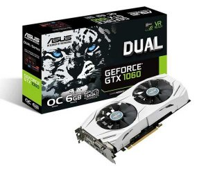 Placa de Vídeo Asus GeForce GTX 1060 DUAL OC, 6GB GDDR5, DUAL-GTX1060-O6G