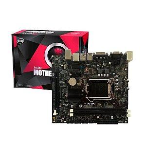 Placa Mãe Afox IH55-MA4 Chipset H55, Intel 1156, DDR3
