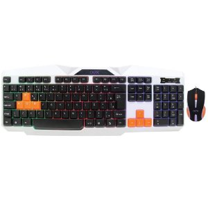 Kit Gamer OEX  Ice Teclado e Mouse - TM300