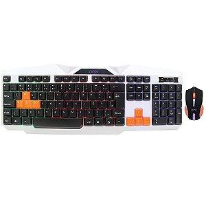 Kit Gamer OEX  Ice Teclado e Mouse - TM300