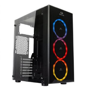 Gabinete Gamer Redragon Thundercracker, C/ 3 Fan RGB - GC-605