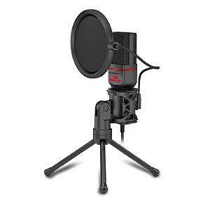 Microfone Gamer Streamer Redragon Seyfert C/ Tripé - GM100