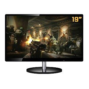 Monitor LED PCTop 19´ HDMI Preto - TDD-DM1900KB