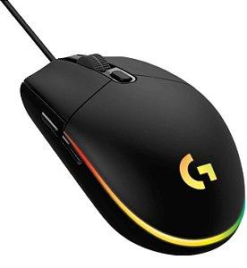 Mouse Gamer Logitech G203 Lightsync, RGB, 8000 DPI - 910-005793