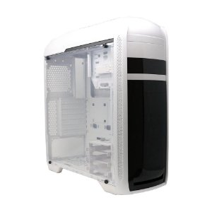 Gabinete Gamer Bluecase, Lateral em Acrílico, Branco - BG024WGCASE
