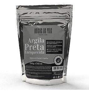 ARGILA PRETA ENRIQUECIDA 500GR – COISAS DE PELE