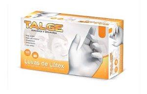 LUVA TALGE LATEX C/ PÓ TAMANHO G