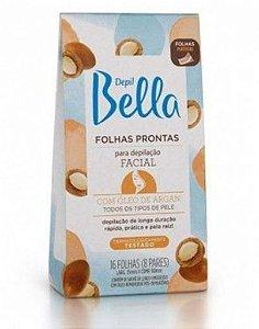 DBELLA FOLHAS FACIAL ARGAN 16 FLS
