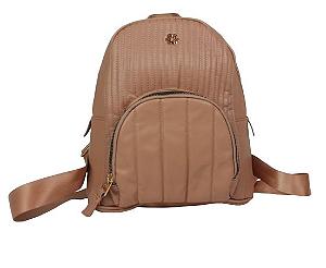 Mochila bolso externo c/ costuras