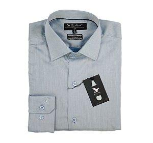 Camisa Azul Clara Manga Longa Cód.7538