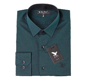 Camisa Manga Longa Verde Cód. 7549
