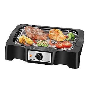 Churrasqueira elétrica portátil 1.200 watts Pratic Steak & Grill - CH-07 110V