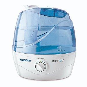 Umidificador de ar ultrassônico 30 watts 2,2 litros - Comfort Air 2 110V/220V