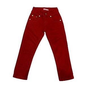 MIXED calça vermelha 2 anos