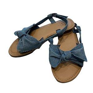 GAP KIDS sandália jeans USA 1 BRA 31