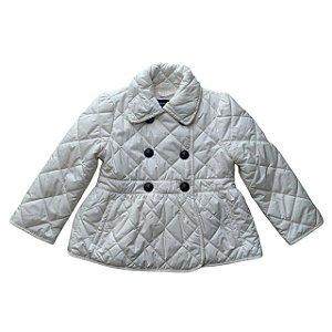 RALPH LAUREN casaco matelassê offwhite 2 anos