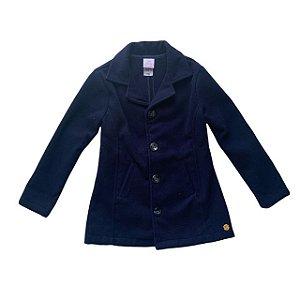 PAOLA BIMBI trench coat lã marinho 5 anos