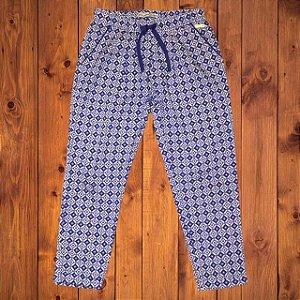 MAYORAL calça estp azul elástico cintura 6 anos