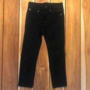 SEVEN calça preta de malha tipo legging 4 anos