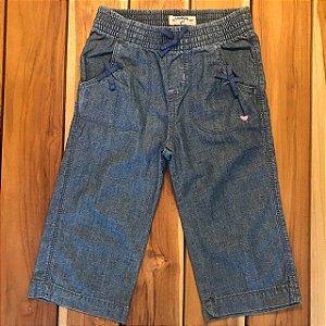 OSHKOSH calça jeans molinho elástico cintura 4 anos