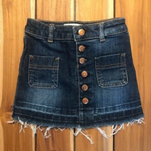 DL 1961 Saia jeans botões 3 anos