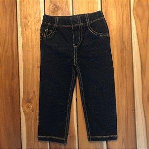 CARTERS legging azul escuro 5 pockets 18 meses